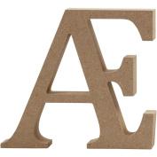 Letter, H: 8 cm, MDF, Æ, 1pc