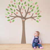 Woodland Tree with Blossom (Spring edition) wall sticker