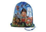 Paw Patrol Nick Jr Kids PE School Bag, Swimming Bag, Drawstring Bag Gym Bag Back To School