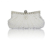 Chirrupy Chief Bling Clutch Purse Wedding Pearl Clutch Evening Bag