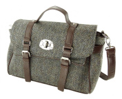 Ladies Authentic Harris Tweed Fashion Satchel Bags LB1001