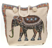 Equilibrium Tapestry Elephant Tote Bag