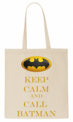 Keep Calm And Call Batman Tote Bag