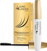Long 4 Lashes Eyelash Growth Enhancing Black Mascara with Biotin 10ml