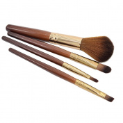 Sanwood 4x Makeup Brush Set Cosmetic Makeup Blush Eyeshadow Eyebrow Lip Brushes
