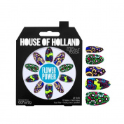 House Of Holland False Nails - Flower Power (24 Nails) [Flower Power, 4116704, LL_0602]