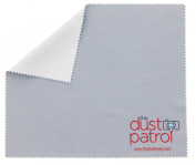 Micro Fibre Lens Cleaning Cloth Grey/White