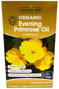 Nature's Aid Organic Evening Primorse Oil Omega-6 - 90 vcaps Women's Health Support
