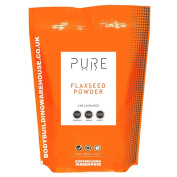 Bodybuilding Warehouse 500 g Pure Ground Flaxseed Powder