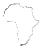 Cookie Cutter XL Africa Cookie Cutter, 11 cm, stainless steel