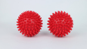 Beenax Hard Spiky Massage Ball (Set of 2) - Perfect for Plantar Fasciitis, Trigger Point, Deep Tissue Massage, Acupressure, Reflexology - Designed to . and Relax Tight Muscles - 7.5cm