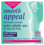 Smooth Appeal 300 g Microwave Formula Water Soluble Wax