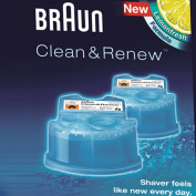 'Braun Cleaning Cartridge, Clean & Charge 4 + 1