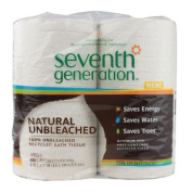 Seventh Generation Unbleached Bath Tissue, 400 Sheets, 2 ply, 4 Ct