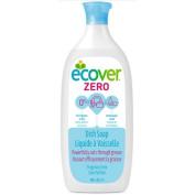 Ecover Dish Soap - Liquid - Zero - Fragrance Free - 740ml - 1 Case