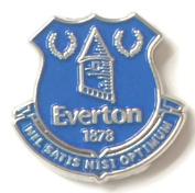 Everton Football Club Enamel Lapel Pin Badge Official Merchandise