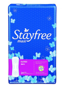 Stayfree Maxi Pads, Super, 24 Ct