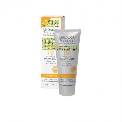 Andalou Naturals Andalou Naturals Beauty Balm Sheer Tint with SPF 30 Brightening - 60ml