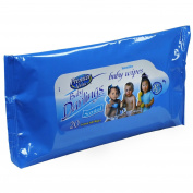 Premier Value Baby Darlings Baby Wipes, Travel Pack, Scented, 20 Ct