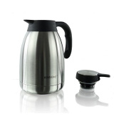 KH-Kinghoff 4183 Thermos Coffee Pot Teapot Insulated Thermos CAN 2.0 l Stainless Steel