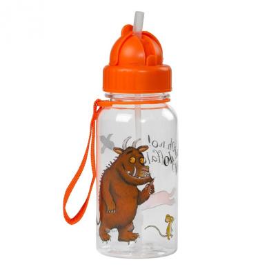 Gruffalo Water Bottle With Flip Up Straw by Wild & Wolf
