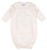 Under the Nile Organic Baby Gown, Off White