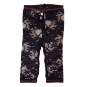 Baby Bella Maya Lacy Legging, Black, 3T