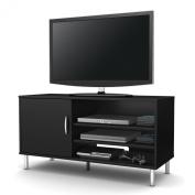 Renta TV Stand in Pure Black