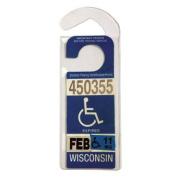WalterDrake Handicap Placard Hanger