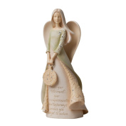 Enesco Foundations Retirement Angel Figurine, 23cm