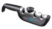 KitchenIQ Black Angle-adjust Adjustable Manual Sharpener