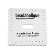 Lightweight Kumihimo Mini Square Plate For Japanese Flat Braiding