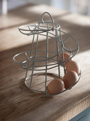 Spiral Egg Holder- Up to 18 Eggs