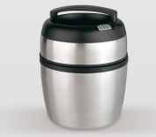 Life Style - Stainless Steel Food Flask - 1400 ml - Silver