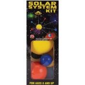 Styrofoam Solar System Kit-Painted