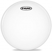 Evans Hybrid Marching Snare Drum Batter Head White 14