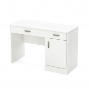 Axess Work Desk in Pure White