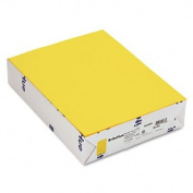 Mohawk BriteHue Multipurpose Coloured Paper, 11kg, 8 1/2 x 11, Sun Yellow, 500 Shts/Rm