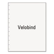 Office Paper, Velobind 11-Hole Left-Punched, 8 1/2 x 11, 9.1kg, 500/Ream 04330