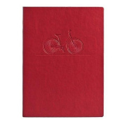 Eccolo Essential Collection 13cm x 18cm Lined Journal, Bicycle