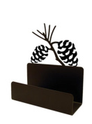 Village Wrought Iron BCH-89 Pinecone Business Card Holder