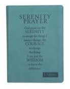 Journal-Serenity Prayer/Handy Size-Turquoise