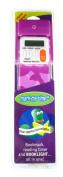 Mark My Time Camoflauge Bookmark with LED Light - Purple