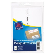 Avery Postage Metre Labels for Personal Post Office E700, 1-3/16 x 6, White, 60/Pack