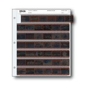 35mm Size Negative Pages Holds Seven Strips of Six Frames, Pack of 100