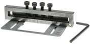 Eurotool Metal Hole Punch, Deluxe 4 Hole Punch, 1 Piece