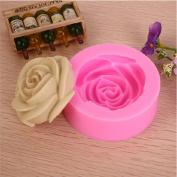 Silicone 3D Rose Flower Fondant Mold Cake Decorating