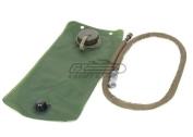 Lancer Tactical Airsoft 2.5 Litre Hydration Bladder Pack OD Green CA-338G