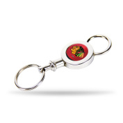 Chicago Blackhawks Official NHL 7.6cm Quick Release Key Chain Keychain by Rico Industries