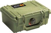 PELICAN 1120 OD Green Case with Foam 1120-000-130